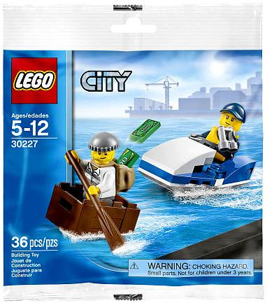 Lego City Police Watercraft Mini Set Lego 30227 [Bagged] by