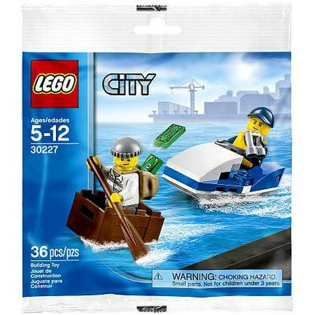 LEGO City Police Watercraft Mini Set LEGO 30227 [Bagged] (Lego Mine Set)