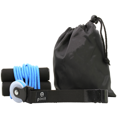 Pivit Shoulder Pulley | Over-the-Door Exerciser for Rotator Cuff Rehabilitation | Arm Exercise System for Frozen Shoulder | Physical Therapy, Increase Flexibility & Range of (Range Of Motion Exercises For Shoulder After Surgery)