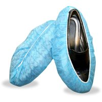 Cordova Blue Polypropylene Non-Skid Shoe Covers (400 Pair/Case), Large