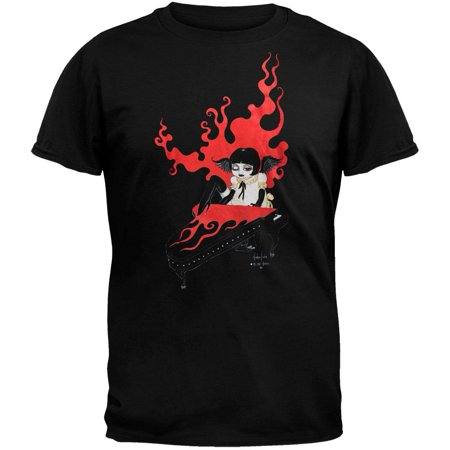 Goth Piano Girl T-Shirt ()