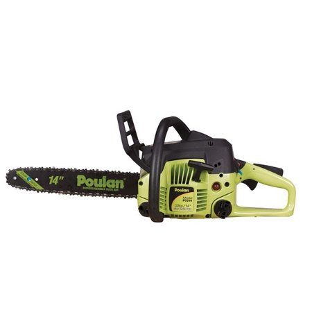 Poulan 14 inch 33cc Two-Cycle Gas Powered Chainsaw