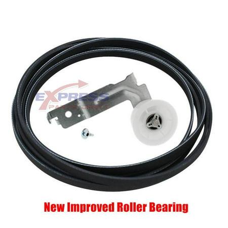 EXP653 Samsung Dryer Idler Pulley and Belt Set DC93-00634A, 6602-001655
