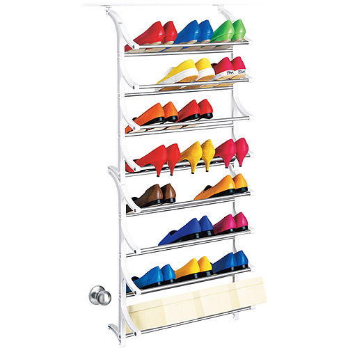 Mainstays 8-Tier Over Door Shoe Rack