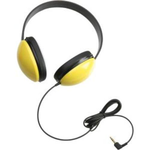 Victory Multimedia 2800-YL Listening First Stereo Headphones Yellow