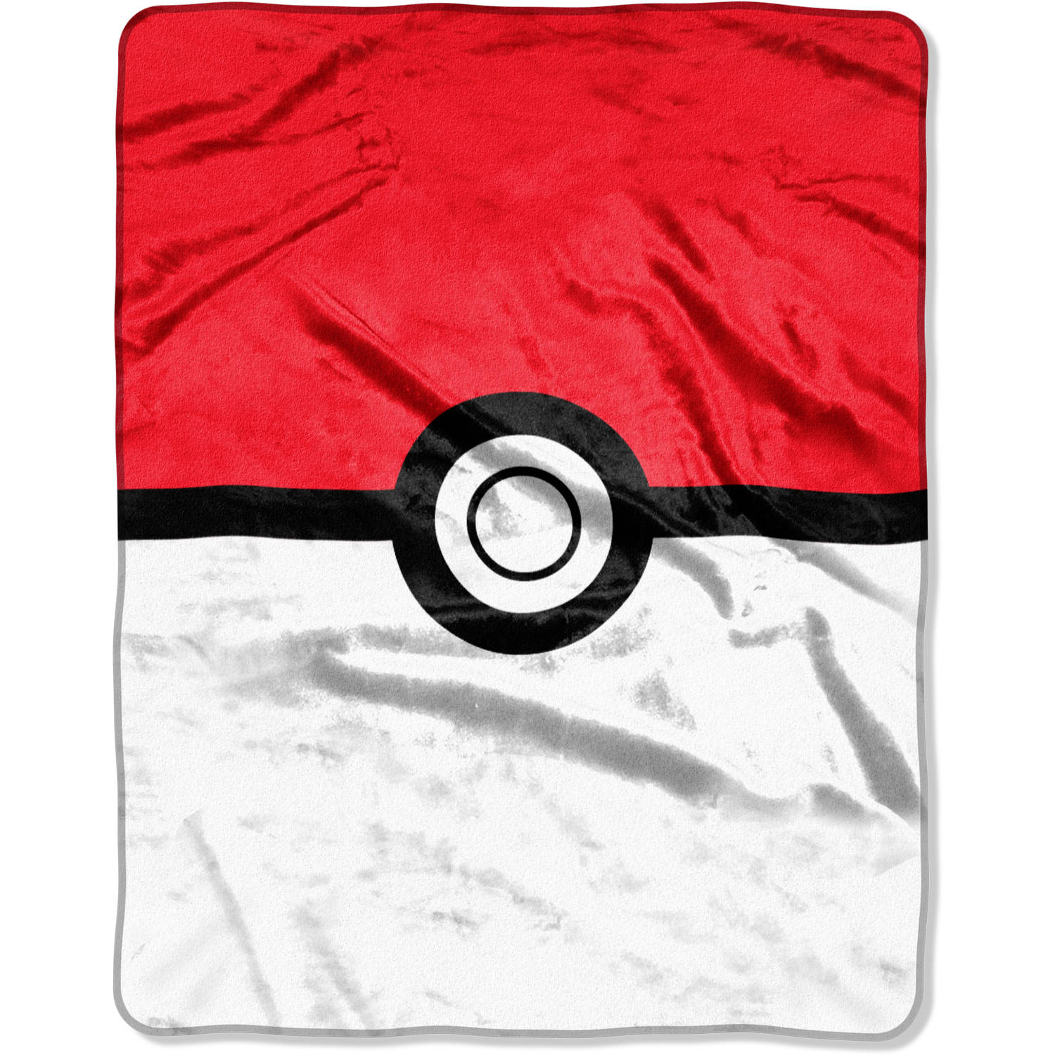 "Pokemon, Red and White 55"" x 70"" Silk Touch Throw"
