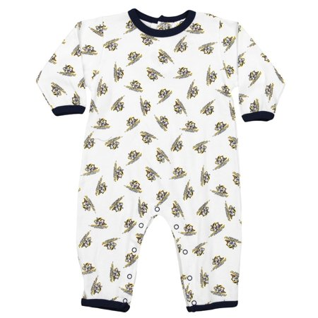 NHL Infant Nashville Predators All-Over Print Coverall, - Predators Nashville