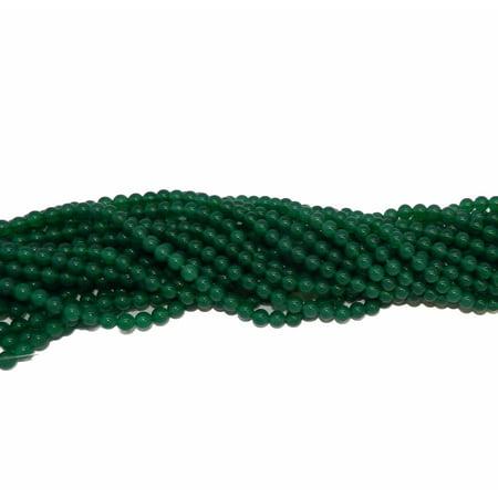 6mm Green Agate Gemstone, Loose Beads, Round, Loose Beads, 15 inch Loose (Green Agate Stone)