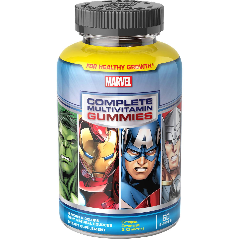 Marvel Avengers Assemble Multivitamin Gummies, 60 count