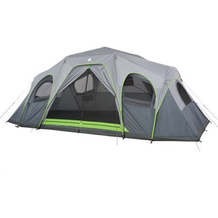 Ozark Trail 12 Person 3 Room Hybrid Instant Cabin Tent