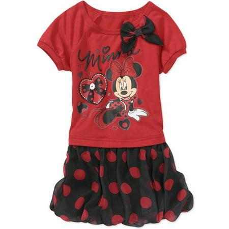 Kids Rex Com (Baby Girls' Minnie Tee Shirt)