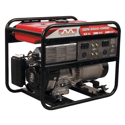 Mi-T-M 4000 Watt CARB Portable Gasoline Generator