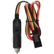 ROADPRO R RPPSCBH-3CP 3-PIN  12-VOLT PLUG FUSED REPLACEMENT 3 WIRE CB POWER CORD