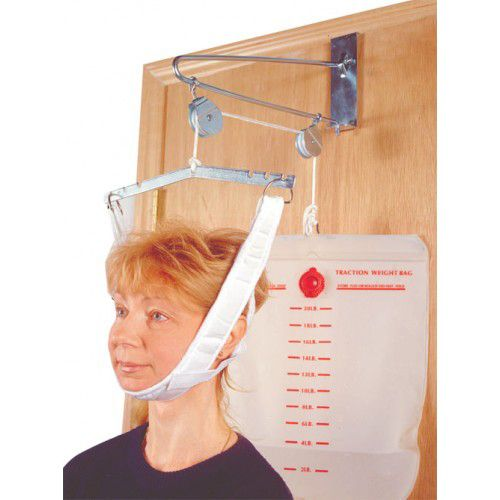 Drive Medical Cervical Traction Kit White, Overdoor, One Size Fits Most, 1 Each