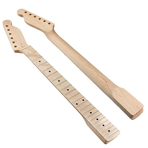 Neck Maple Fingerboard for Fender Tele Style Electric Guitar Replacement Type 1