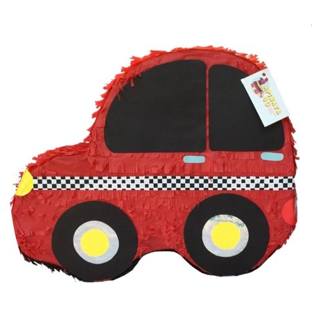 APINATA4U Red Car Pinata Car Theme Party Favor