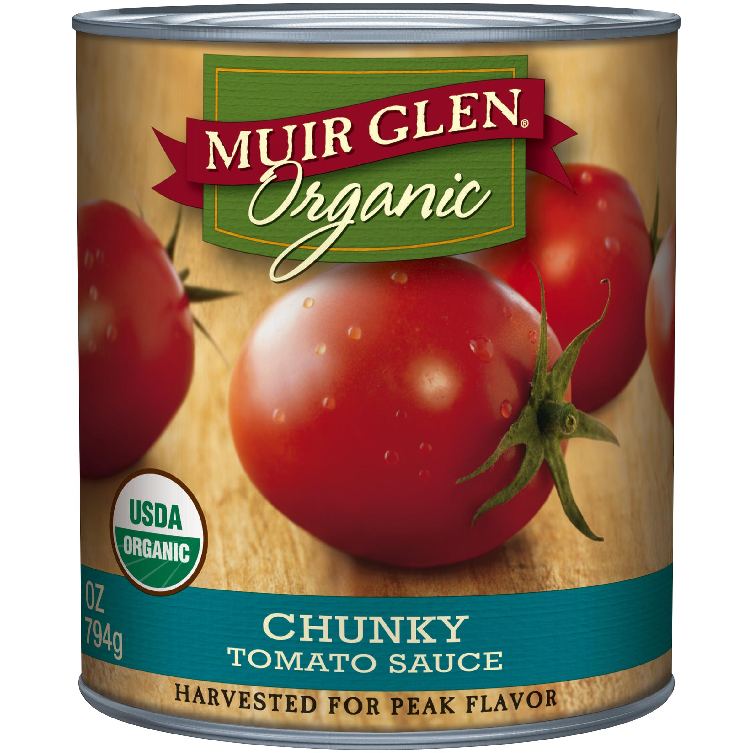 Muir Glen�� Organic Chunky Tomato Sauce 28 oz. Can