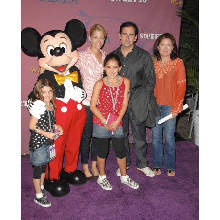 Steve Carell At Arrivals For Miley Cyrus Sweet 16 Birthday Party And Concert Disneyland Resort Anaheim Ca October 05 2008 Photo By Dee CerconeEverett Collection Celebrity - Party City Anaheim Ca