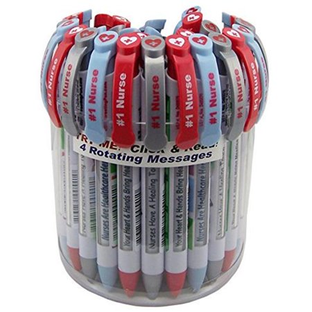 Greeting Pen 9019 Nurse Appreciation Pen with Canister Rotating Messages - Pack of 36 - image 1 of 1