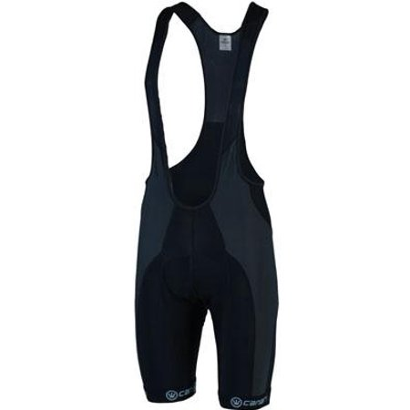 2015/16 Men's Evolution Cycling Bib Shorts - 1065 (Black/Grey - M) ()
