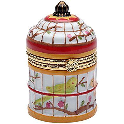 CG 96277 2.63' Birdcage Hinge Jewelry/Trinket Box