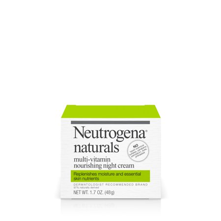 Neutrogena Naturals Multi Vitamin Hydrating   Nourishing Facial Night Cream  1 7 Oz
