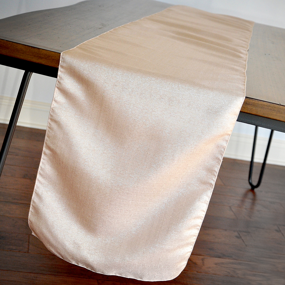 Charmant Blush Linen Table Runner 108 Inches. Manufactured In The USA. Blush Wedding  Decorations For