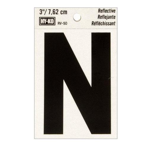 """3"""" Letter N"""