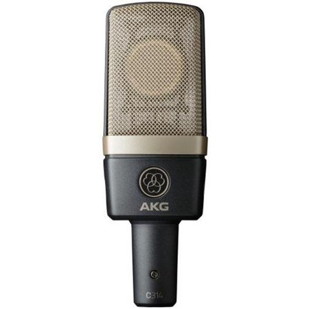 AKG C314 Matched Pair Stereo Condenser Mic Set -