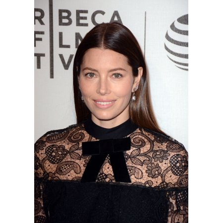 Jessica Biel At Arrivals For The Devil And The Deep Blue Sea Premiere At 2016 Tribeca Film Festival Photo Print