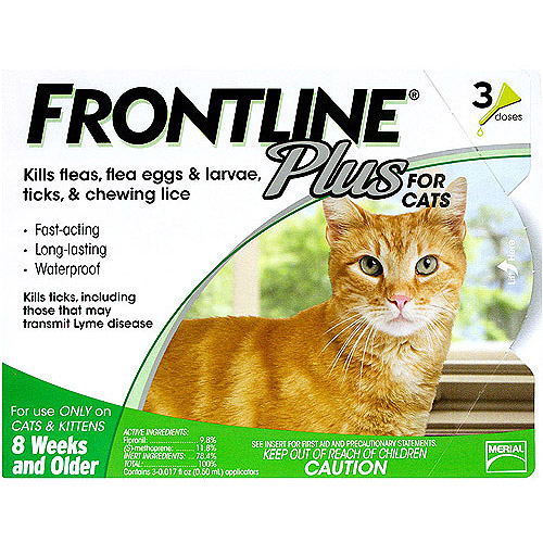 Frontline Plus Cat Flea and Tick Control