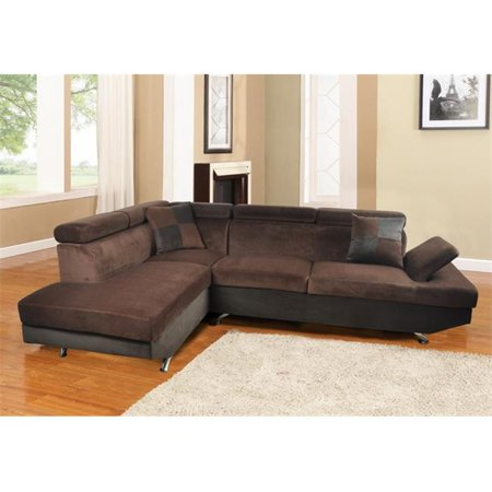 Lifestyle furniture lf2807a genoa left hand facing for Sectional sofa 103
