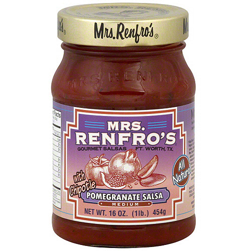 Mrs. Renfro's Pomegranate Chipotle Salsa, 15 oz (Pack of 6)