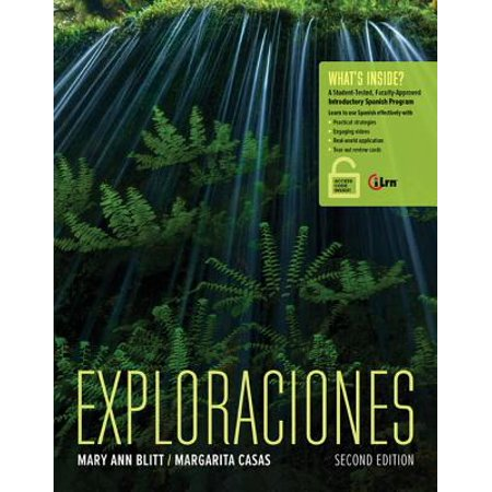 Exploraciones (with Ilrn Heinle Learning Center, 4 Terms (24 Months) Printed Access