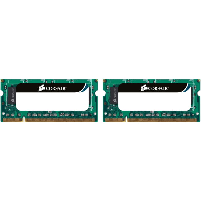 Corsair 8GB (2 x 4GB) DDR3 SDRAM PC3-10600 204-Pin SoDIMM Memory Module
