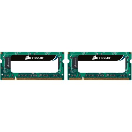 Corsair 8GB (2 x 4GB) DDR3 SDRAM PC3-10600 204-Pin SoDIMM Memory (Corsair Memory Modules)