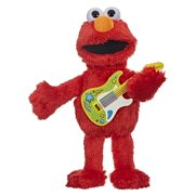 Sesame Street Rock and Rhyme Elmo Talking, Singing 14-Inch Plush Figure Toy