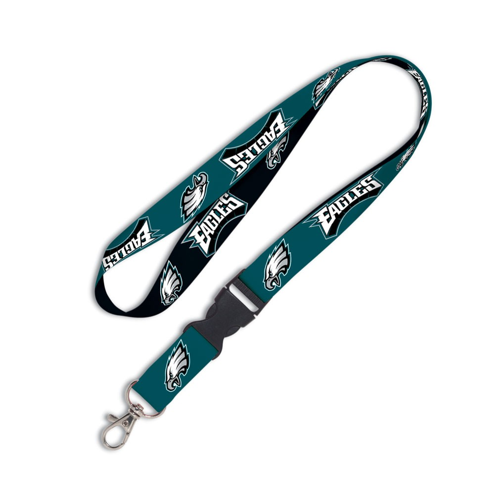 Philadelphia Eagles Official NFL 20 inch  Lanyard Key Chain Keychain by Wincraft