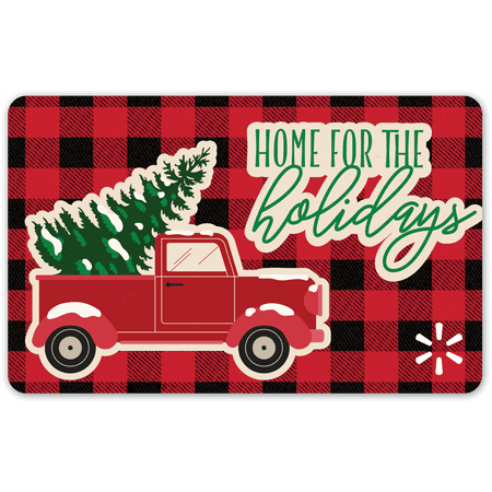 Home for Holidays Walmart Gift Card
