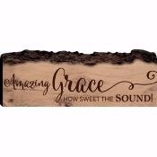 Sign-Barky-Amazing Grace (16 x 5.75)