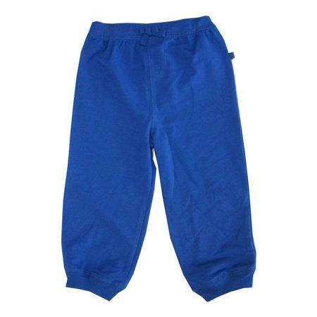 Little Me Little Boys Royal Blue Solid Color Adjustable Waist Sweat Pants 2-4T ()