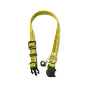 HDP Breakaway Reflective Cat Collars  Color:Yellow