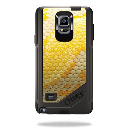 MightySkins Protective Vinyl Skin Decal for OtterBox Commuter Galaxy Note 4 Case wrap cover sticker skins Albino Python