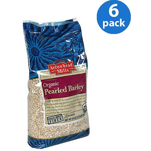Arrowhead Mills Organic Pearled Barley, 28 oz (Pack of 6)