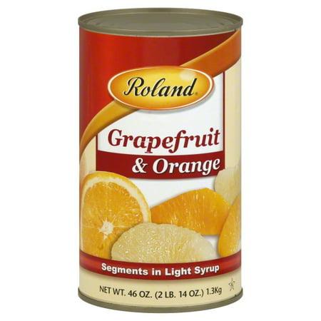 Roland Grapefruit & Orange Segments in Light Syrup, 46.0 OZ ()