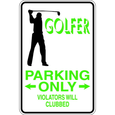 New Wall Ideas Golfer Parking Boys Bed Room 9 Inches X 18