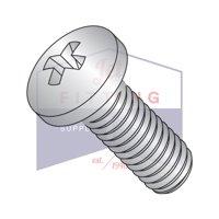 "8-32 x 3 1/2"" Machine Screws   Phillips   Pan Head   18-8 Stainless Steel (Quantity: 400)"