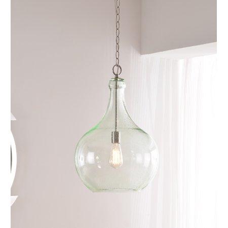 Kenroy Home Rhone Brushed Steel 1 Light Pendant