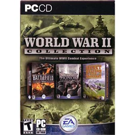 Electronic Arts The World War 2 Collection: Battlefield 1942, Medal of Honor - Allied Assault, and Secret Weapons Over (Best World War 2 Computer Games)