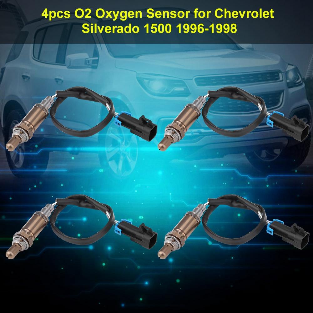 4 Upstream Downstream O2 Oxygen Sensor  for 96 97 98 Chevrolet Silverado 1500